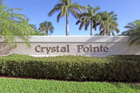 Crystal Pointe Community Homes for Sale Palm Beach Gardens FL 33410