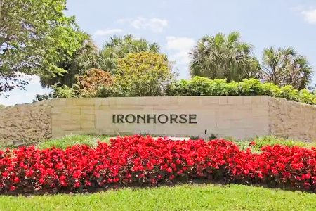 Ironhorse Country Club Homes For Sale West Palm Beach